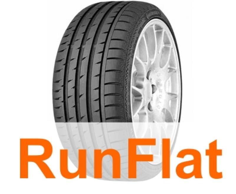 Anvelope vara CONTINENTAL Sport Contact 3 SSR 235/45 R17 97W