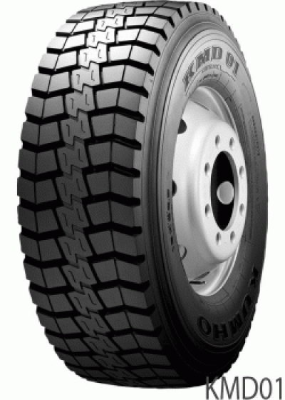 Anvelope tractiune KUMHO Kmd-01 Tractiune Mixt On/Off M+S 315/80 R22.5 156K