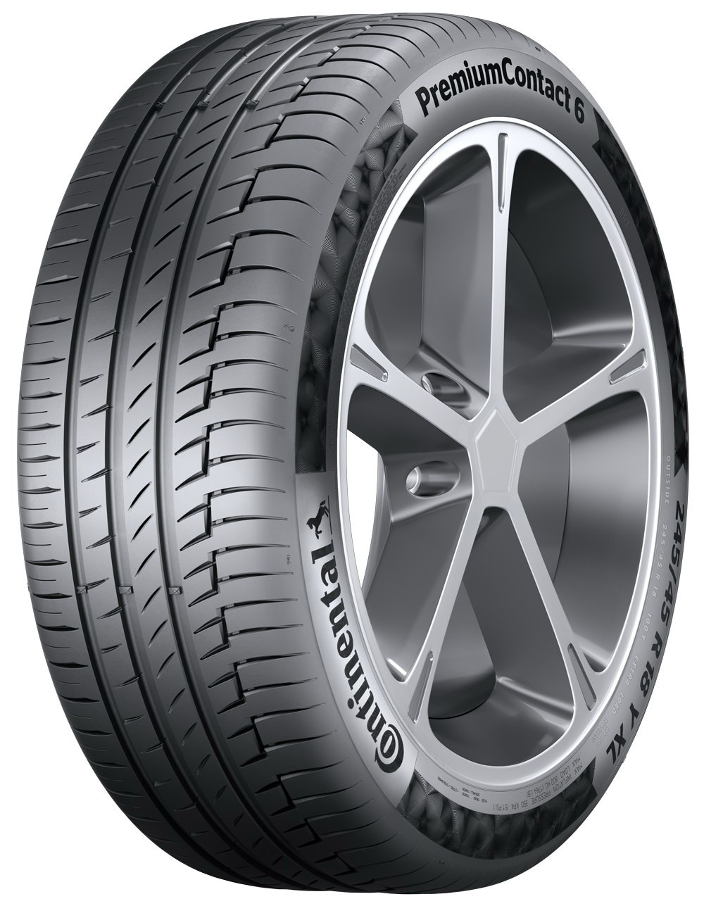 Anvelope vara CONTINENTAL PREMIUM CONTACT 6 245/40 R18 97Y