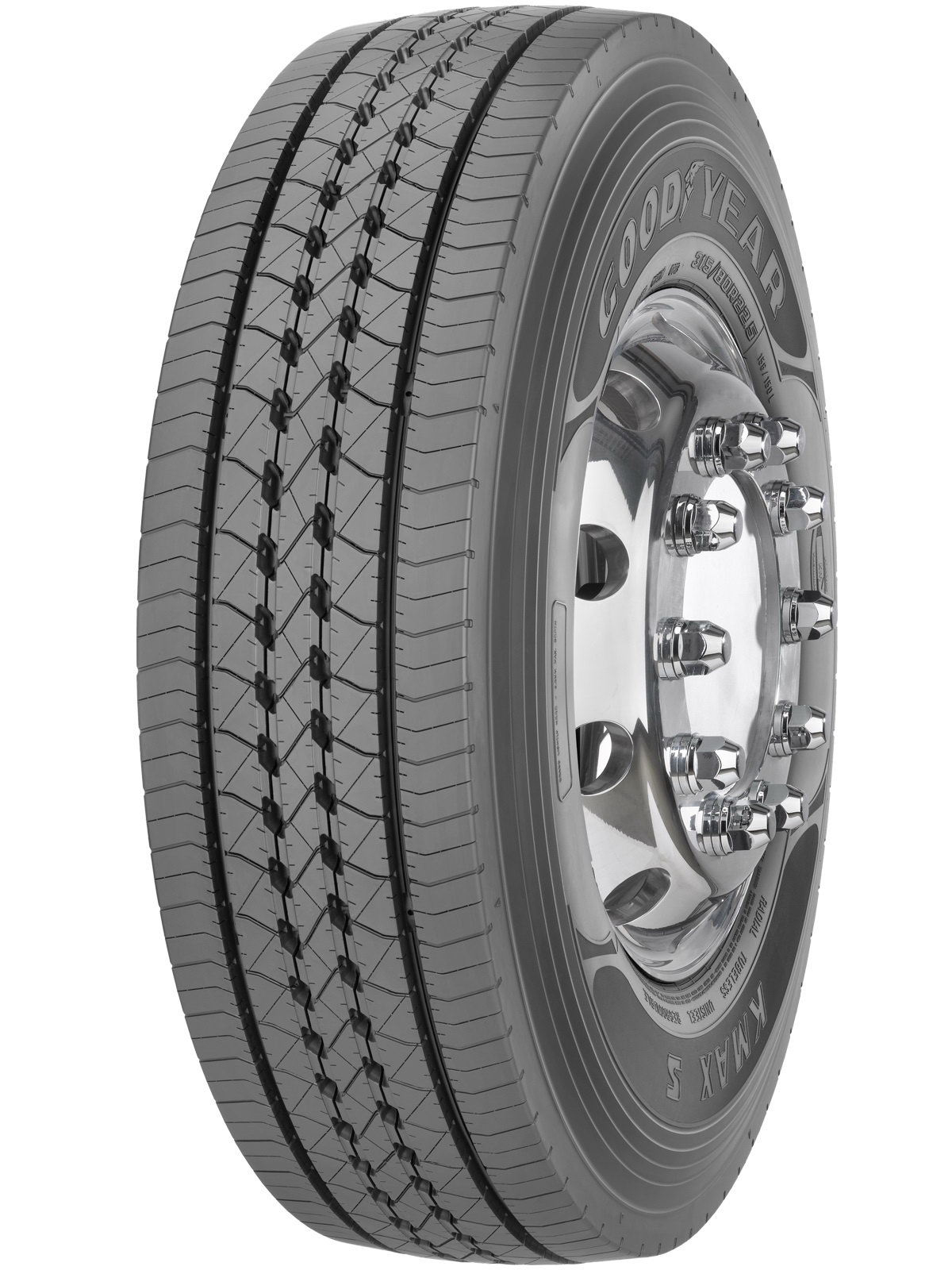 Anvelope trailer GOODYEAR KMAX S 355/50 R22.5 156K